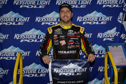 Polesitter Matt Crafton, ThorSport Racing Chevrolet