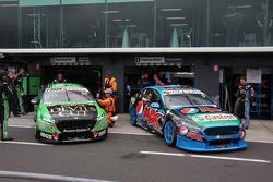 David Reynolds, Rod Nash Racing Ford en Cameron Waters, Prodrive Racing Australia Ford