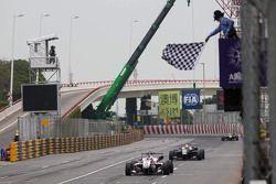 Kazanan Felix Rosenqvist, Prema PowerTeam Dallara Mercedes-Benz