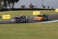Rick Kelly, Nissan Motorsports and Shane van Gisbergen, Tekno Autosports Holden