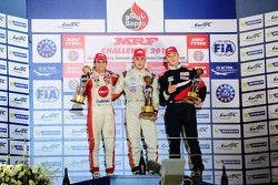 Winner Alessio Picariello, second place Pietro Fittipaldi, third place Nikita Troitskiy