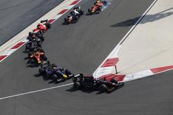 Sergey Sirotkin, Rapax, Pierre Gasly, DAMS, Alexander Rossi, Racing Engineering and Gustav Malja, Rapax