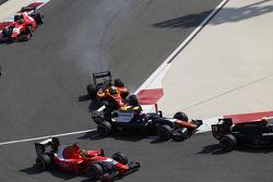 Daniel De Jong, Trident et Jordan King, Racing Engineering se touchent
