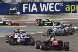 Artur Janosz, Trident leads Matthew Parry, Koiranen GP