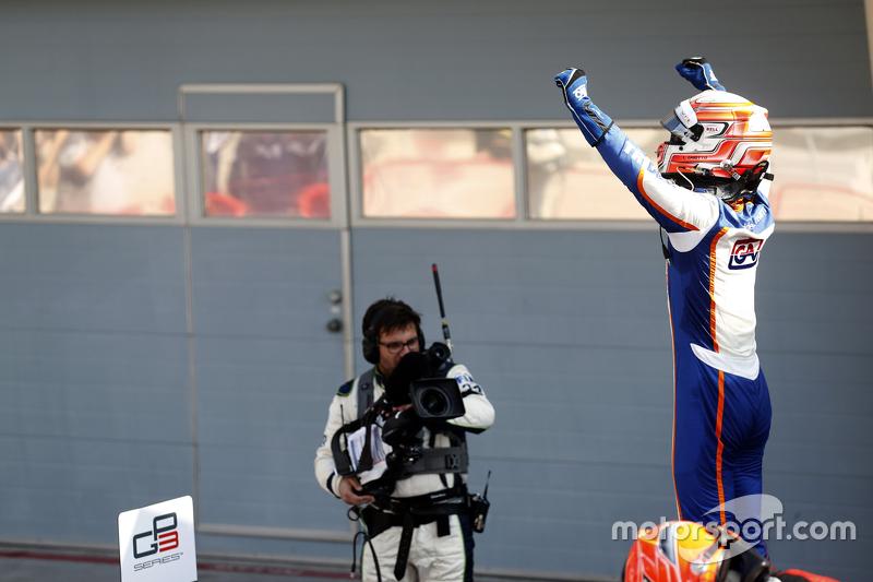 Race 2 Winner Luca Ghiotto, Trident