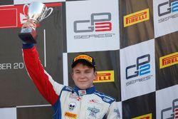 Race 2 third place Matthew Parry, Koiranen GP