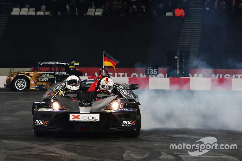 #9: Sebastian Vettel beim Race of Champions