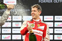 Il vincitore Sebastian Vettel