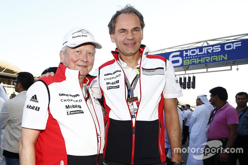 Dr. Wolfgang Porsche und Dr. Oliver Blume
