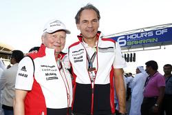 Dr. Wolfgang Porsche y Dr. Oliver Blume