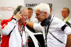 Dr. Wolfgang Porsche en Matthias Müller, CEO van Volkswagen AG