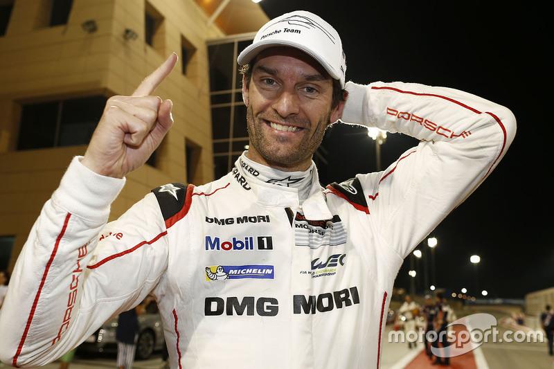 WEC-Weltmeister 2015: Mark Webber feiert