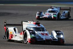 #7 Audi Sport Team, Joest Audi R18 e-tron quattro: Marcel Fässler, André Lotterer, Benoit Tréluyer