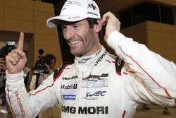 2015 champion Mark Webber celebrates