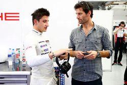 Mitch Evans and Mark Webber, Porsche Team
