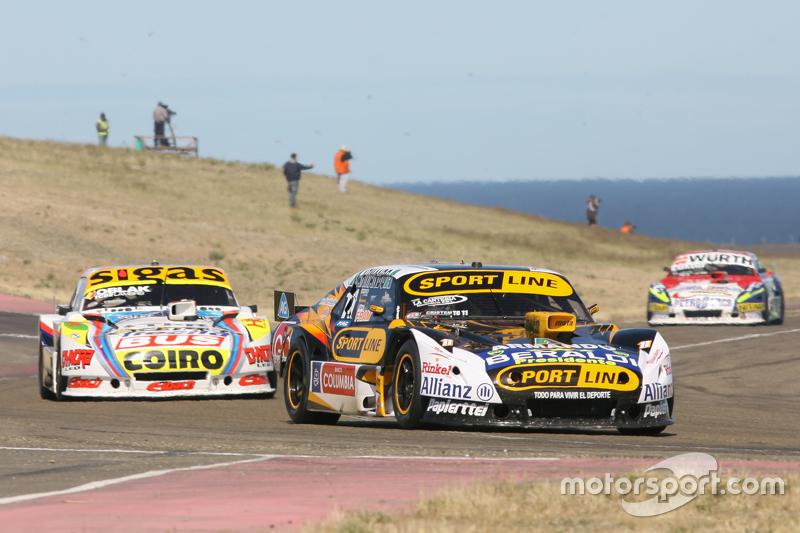 Leonel Pernia, Las Toscas Racing Chevrolet, Mauricio Lambiris, Coiro Dole Racing Torino, Juan Martin Trucco, JMT Motorsport Dodge