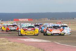 Nicolas Bonelli, Bonelli Competicion Ford, Guillermo Ortelli, JP Racing Chevrolet, Jose Manuel Urcer