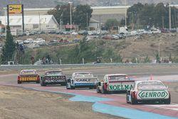 Matias Jalaf, Catalan Magni Motorsport Ford, Emanuel Moriatis, Alifraco Sport Ford, Federico Alonso,