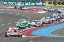 Matias Rossi, Donto Racing Chevrolet, Mauro Giallombardo, Maquin Parts Racing Ford, Carlos Okulovich