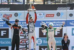 Podium, Santiago Mangoni, Laboritto Jrs Torino, Josito di Palma, CAR Racing Torino, Agustin Canapino, Jet Racing Chevrolet