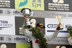 Podium : le deuxième, Edoardo Mortara, Audi Sport Team Phoenix