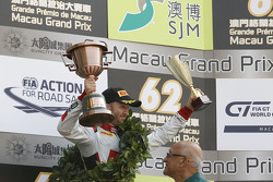 Podium : le troisième, René Rast, Audi Sport Team WRT