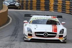Maro Engel, Mercedes AMG Driving Academy Mercedes-Benz SLS AMG GT3