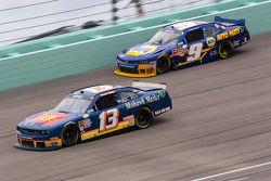 Derek White and Chase Elliott, JR Motorsports Chevrolet