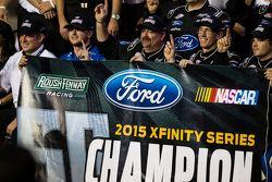Campione NASCAR XFINITY 2015 Chris Buescher, Roush Fenway Racing Ford