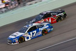Ricky Stenhouse Jr., Roush Fenway Racing Ford en Brett Moffitt