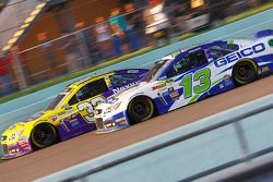 Ty Dillon, Chevrolet and Casey Mears, Germain Racing Chevrolet