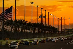Рестарт: лидирует Кейси Кейн, Hendrick Motorsports Chevrolet