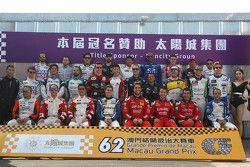 Foto de grupo de pilotos TCR