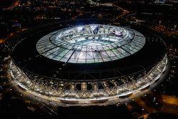 Londra Olimpiyat Stadyumu'na genel bakış