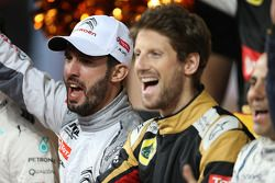 Jose Maria Lopez, Romain Grosjean