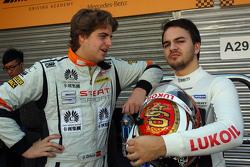 Jordi Oriola, SEAT Leon, Target Competition; Sergey Afanasyev, SEAT Leon, Team Craft-Bamboo LUKOIL