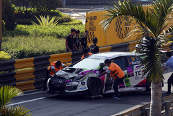 L'incidente di Michael Choi, SEAT Leon, Prince Racing Hong Kong