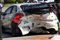 L'incidente di Sunny Wong, Honda Civic TCR, WestCoast Racing