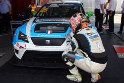 Winner and TCR 2016 Champion Stefano Comini, SEAT Leon, Target Competition