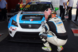 Ganador y Campeón TCR 2016 Stefano Comini, SEAT Leon, Target Competition