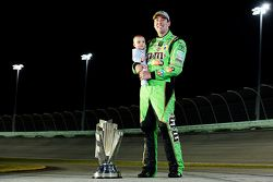 NASCAR Sprint Cup Series champion Kyle Busch with son Brexton
