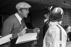 Graham, Lotus, mit Colin Chapman