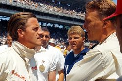 Graham Hill e Dan Gurney