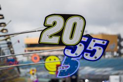 Boxenteafel für Matt Kenseth, Joe Gibbs Racing Toyota