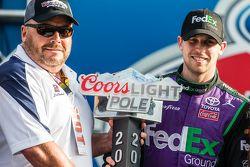 Le poleman Denny Hamlin, Joe Gibbs Racing Toyota
