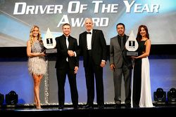 NASCAR Xfinity Series Driver of the Year Chris Buescher and NASCAR Truck Series Driver of the Year M