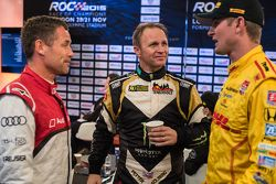 Tom Kristensen, Petter Solberg ve Ryan Hunter-Reay