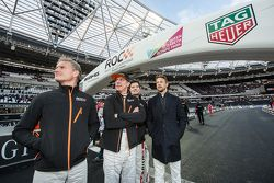 David Coulthard, Jason Plato, Alex Buncombe, Jenson Button
