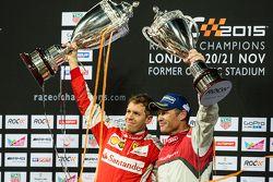 Kazanan Sebastian Vettel, ikinci Tom Kristensen