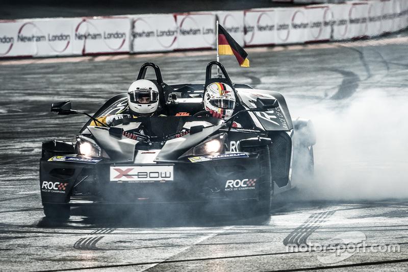 Race of Champions 2015 : Sebastian Vettel